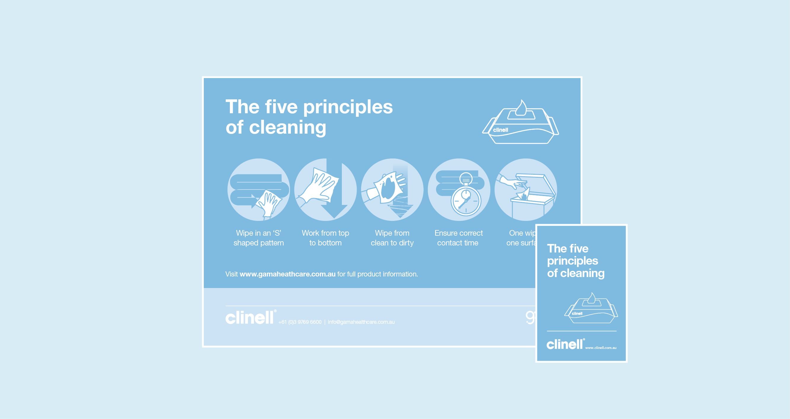 5 Principles of Cleaning Pack downloads – Aus