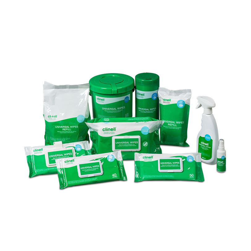 Clinell | Sporicidal Wipes