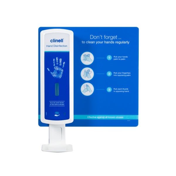 Touch-free Hand Disinfection Backboard-CHDNBBM-wbst